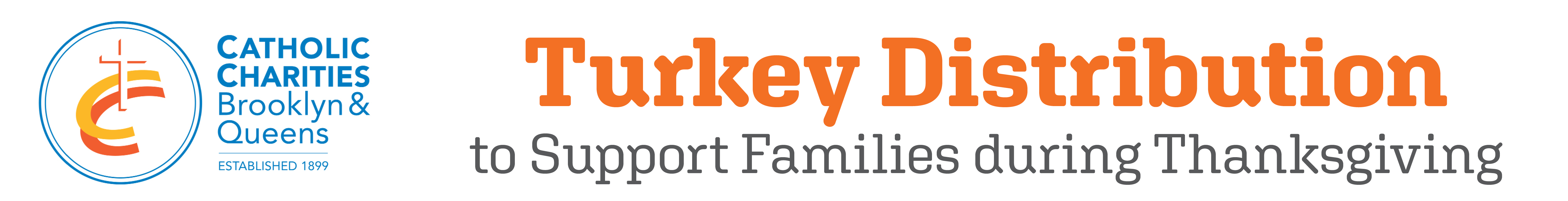 Turkey distribution event banner for the website